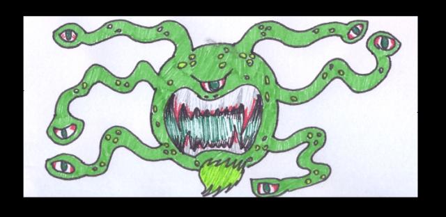Sempre tive medo desse monstro!