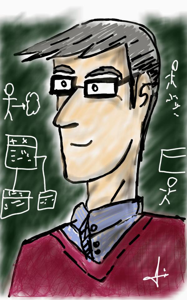 Um dos professores de Java.