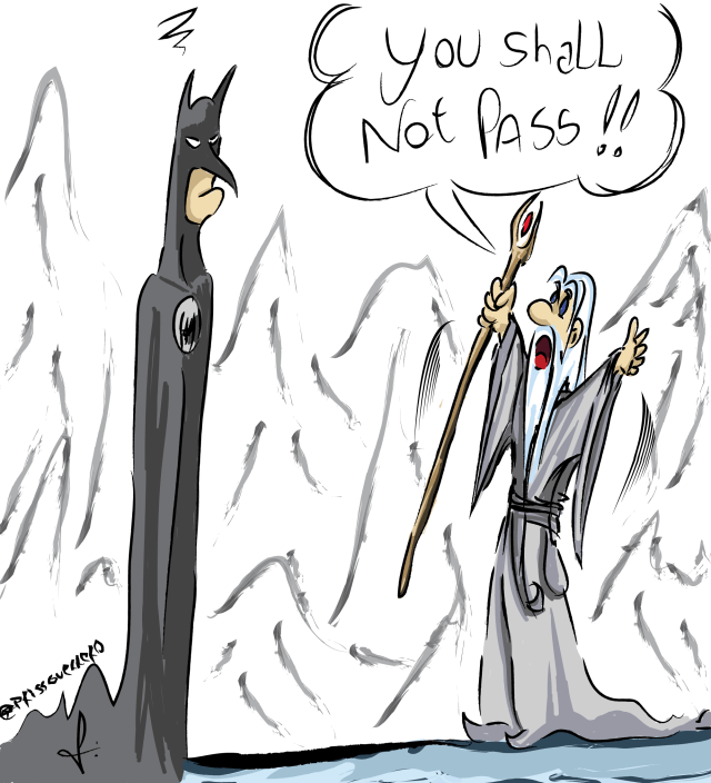 Batman VS Gandalf