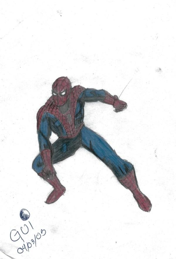 Ai vem o homem-aranha!!