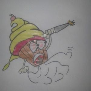 cupcake assassino