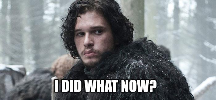 Não, esse ´JON Snow.