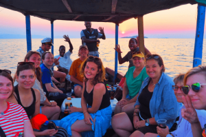 Sunset Cruise on Lake Malawi