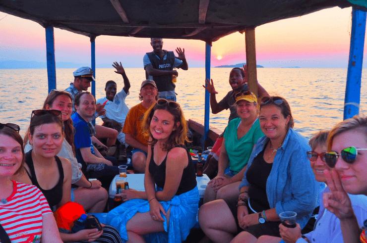 Sunset Cruise on Lake Malawi