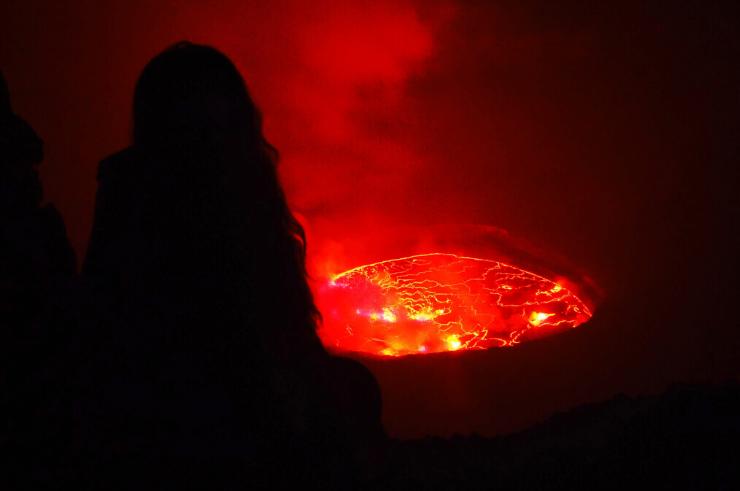 Mount Nyiragongo in the Congo