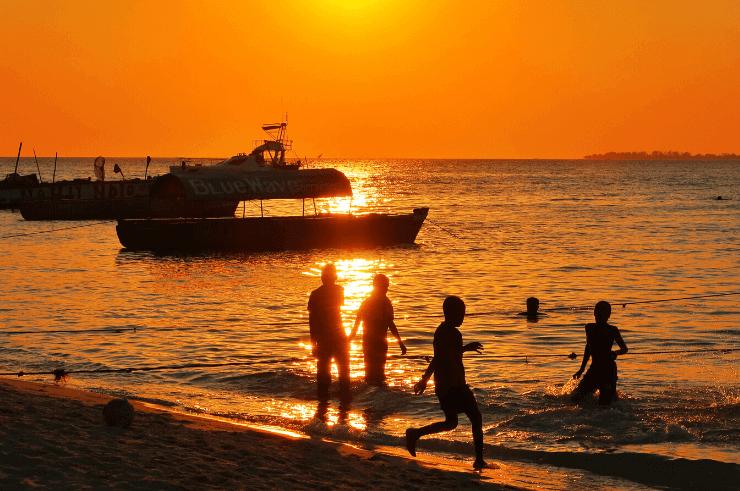 Stone Town, Zanzibar at Sunset