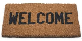 Rock My Run welcome mat