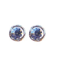 Crystal Stud Earrings - Statement Stud Earring - Vintage ...