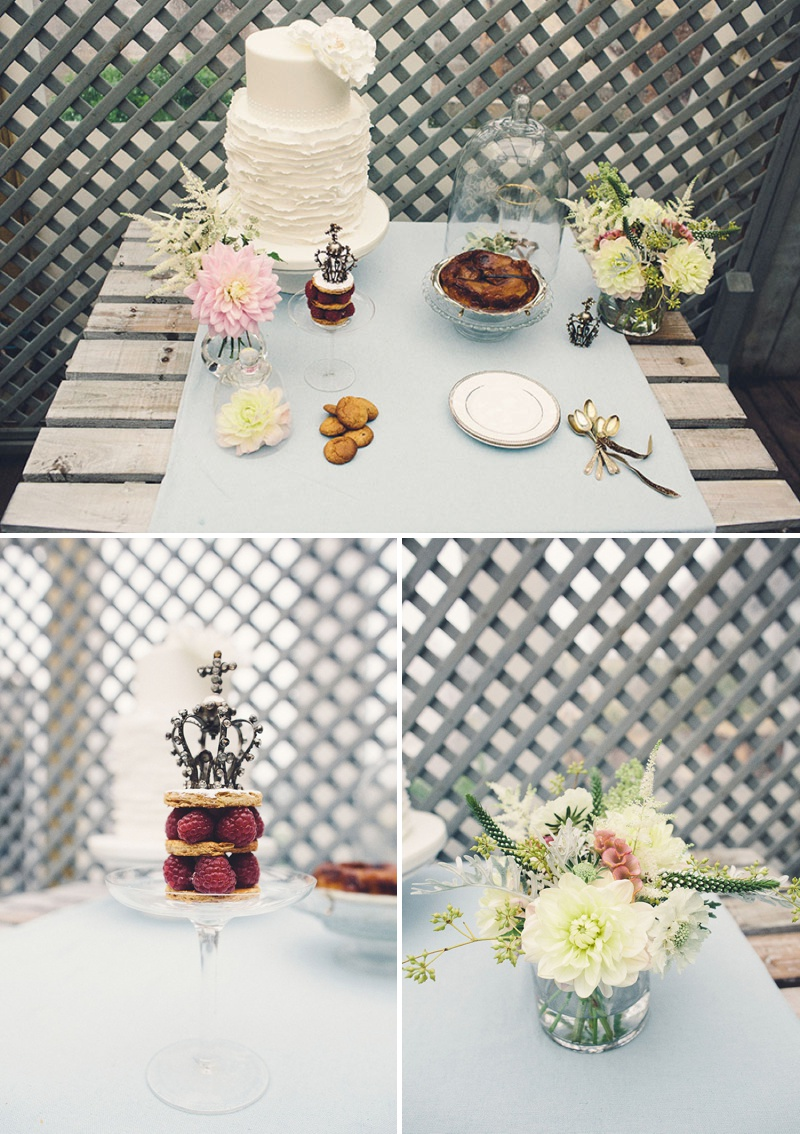 A Coastal Wedding Decor Inspiration Shoot From Rock My Wedding Featuring A Rustic Olive Leaf