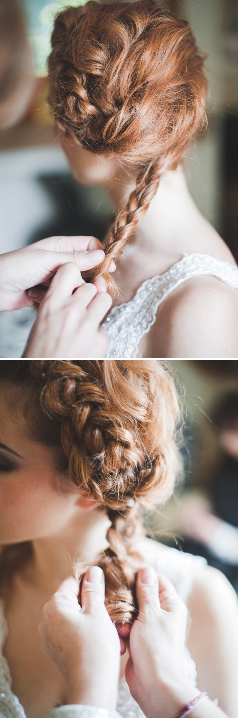 A Bridal Hair Tutorial Showing Brides How To Create