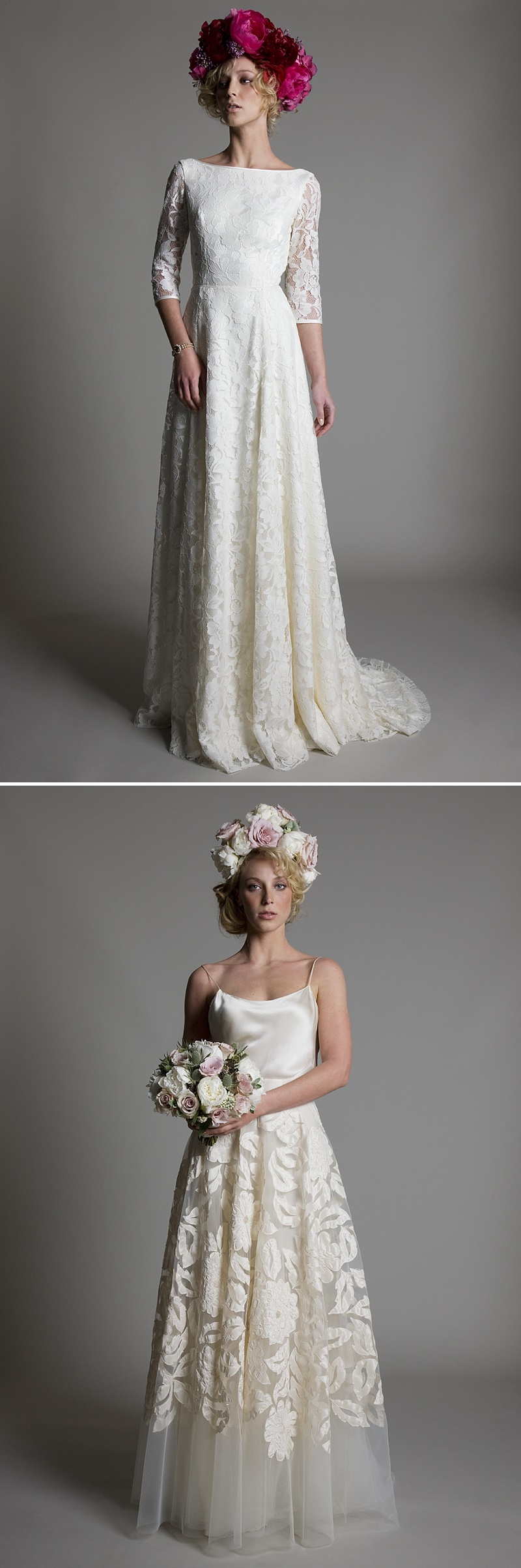 Beautiful Vintage and Couture wedding dresses and gowns by Kate Halfpenny London
