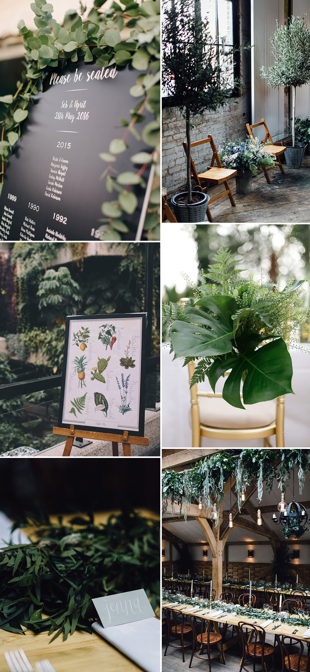 Using Greenery In Your Wedding Decor  ROCK MY WEDDING  UK WEDDING BLOG  DIRECTORY