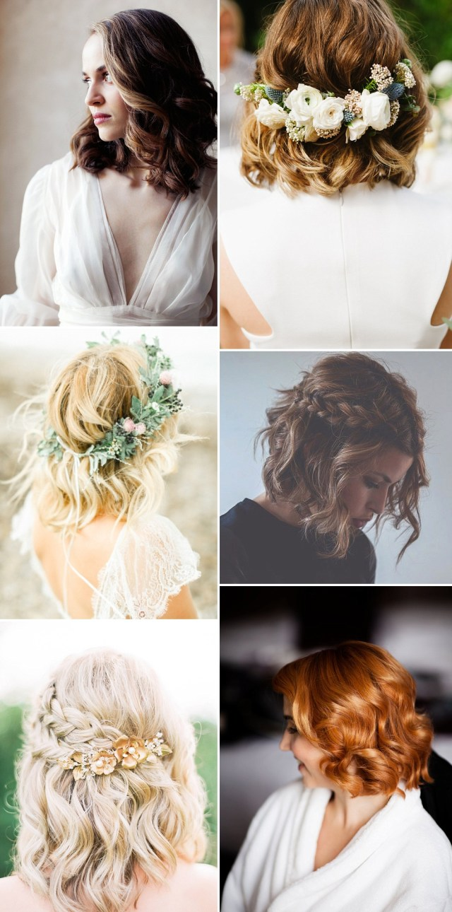 wedding hair ideas for stylish brides & trends for 2017