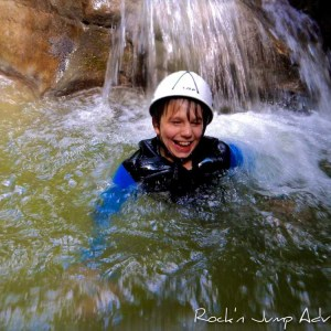 Canyoning Famille jura bugey saint claude chaley pays de gex geneve lausanne nyon lyon