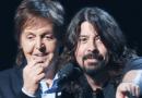 Paul McCartney plays drums on Foo Fighters' new album.