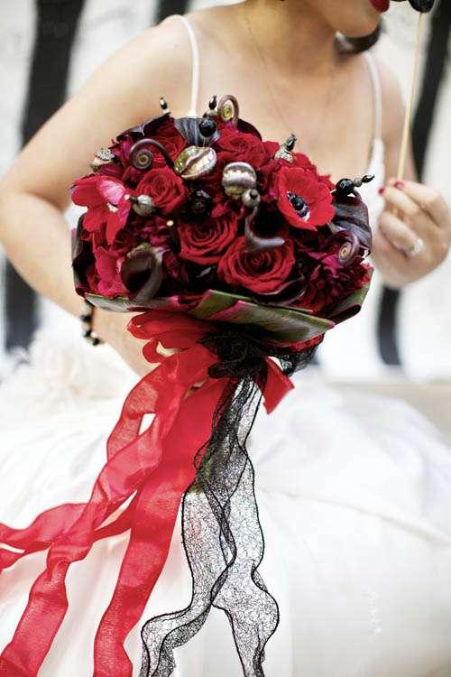 Tim Burton Wedding Dress