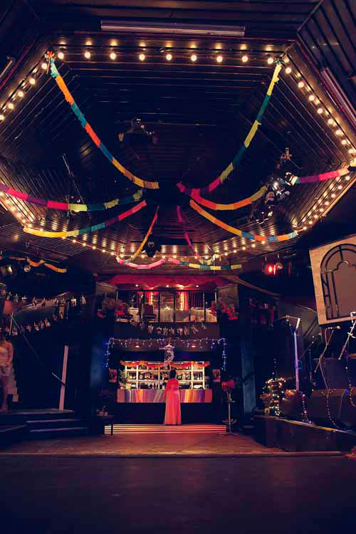 An Eclectic Nightclub Wedding Ant  Lou  Rock n Roll Bride