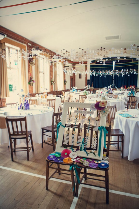 A DIY Village Hall Wedding Amp A Bride Who Designed Her Own