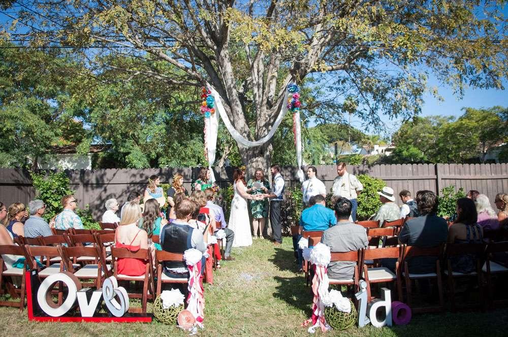 A Boho Hippie Mexicali Garden Wedding Kelli and Chris