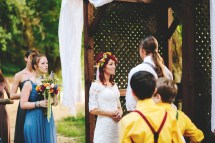 Hippie Barefoot Wedding