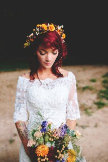 Bohemian Hippie Wedding
