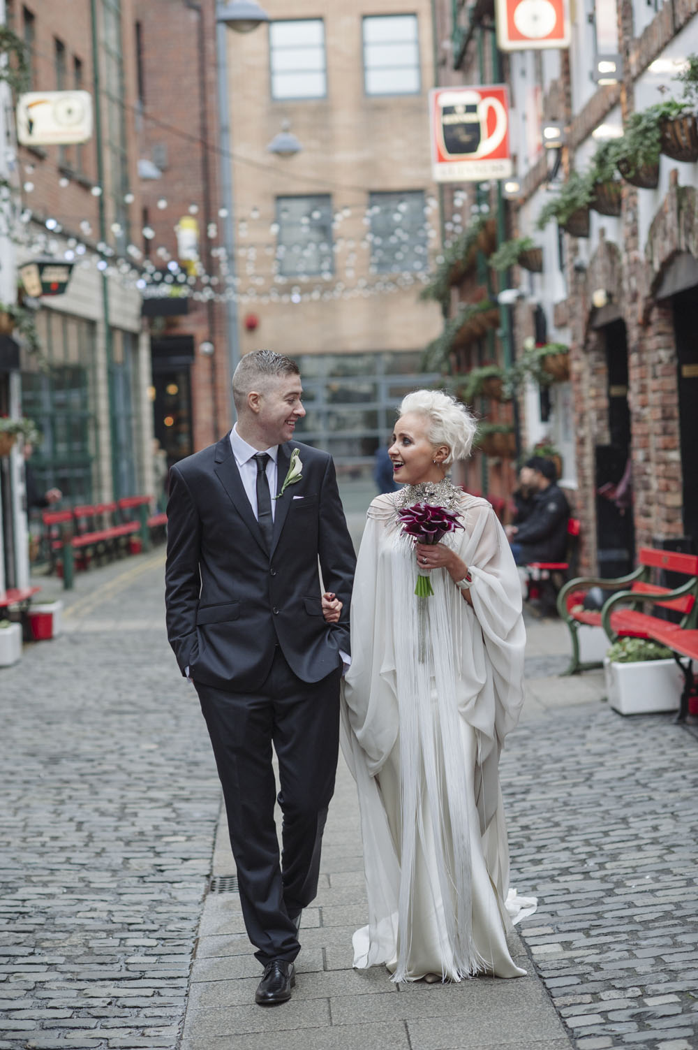 Industrial Chic and NonTraditional Belfast Bash  Rock n Roll Bride