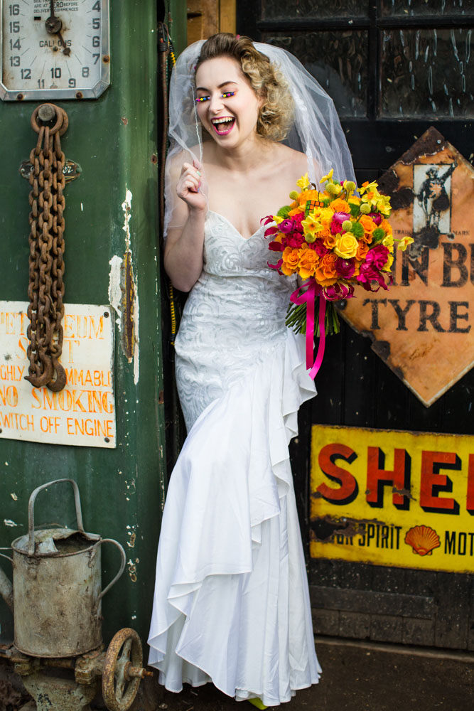 The National Vintage Wedding Fair Celebrates the 1980s  Rock n Roll Bride
