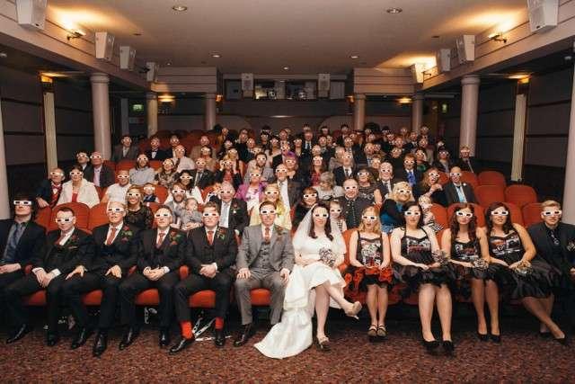 Movie Themed Cinema Wedding in Scotland  Rock n Roll Bride