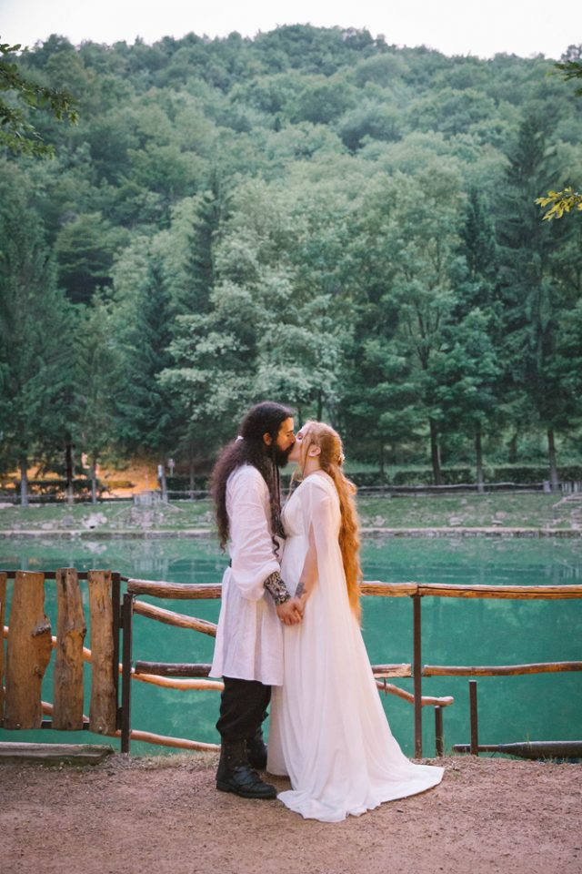 diy lord of the rings wedding in italy