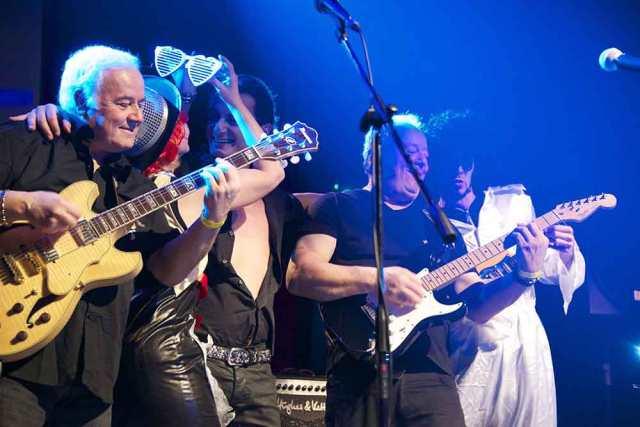 photo groupe triopopcorn concert rock paloma nîmes paloma