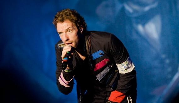 Coldplay en vivo