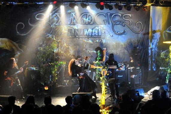 Six Magics en vivo | Foto: Javier Valenzuela