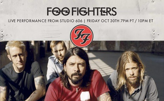 Foo Fighters Live from Studio 606