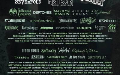 Cartel completo del Hellfest 2018