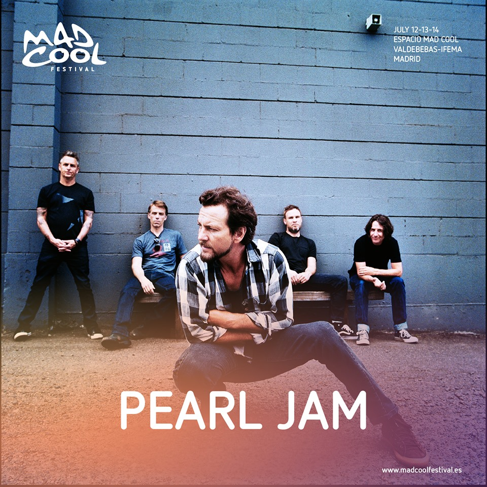 Pearl Jam Mad cool