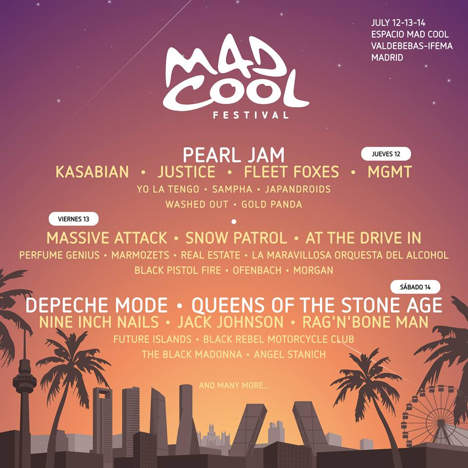 mad cool dias 2018 201712