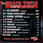 OnAir Top10 Sonuçlar- 6.Hafta