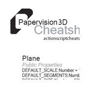 PV3D Cheatsheets