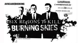 Burning Skies in Six Reasons To Kill v Orto Baru