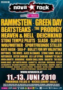 Napovedujemo Nova Rock 2010