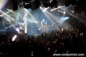 Apocalyptica v Cvetličarni (foto: Uroš Škrjanc)