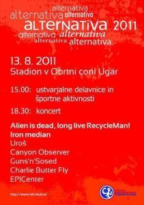 Festival Alternativa v Ribnici