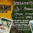 Festival MetalDays je ravnokar javil, da so potrdili velikane trash metala Megadeth.