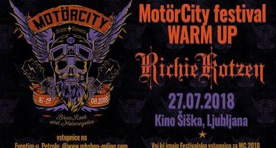 Na idiličnem tolminskem Sotočju v letošnjem letu že drugič poteka MotörCity; blues (in rock) festival bo trajal od četrtka, 16. avgusta, do nedelje, 19. avgusta.