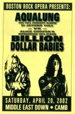 Aqualung vs Billion $ Babies