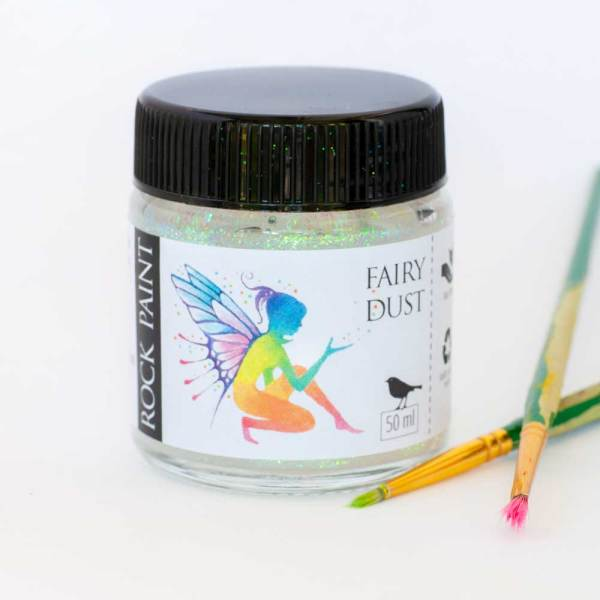 Fairy dust glitter paint