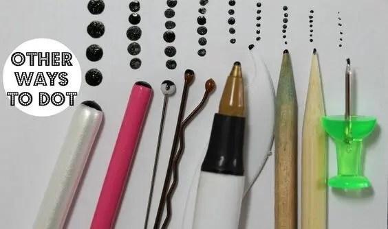 diy dotting tools