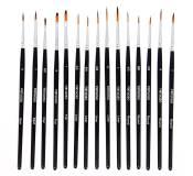 Virtuoso 15 paintbrushes