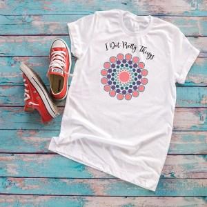 mandala dot art shirt