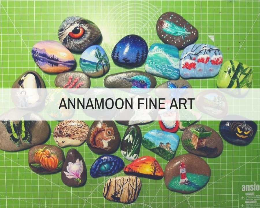 ANNA MOON FINE ART FEATURE